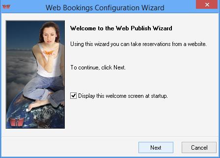 iMagic Hotel Reservation - Web Bookin Wizard Screen